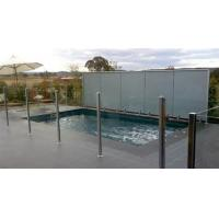 Wholesale 12 MM Clear Pool Fencing Glass Toughened For Railing System from china suppliers