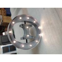 Wholesale Silver Alphabet Metal Letter Lights Led Backlit Sign Letters For Advertising from china suppliers