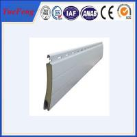 Wholesale Aluminum roller shutter door Extrusion Formed Slat Profiles from china suppliers