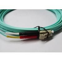 Wholesale LC OM3 Duplex Fiber Optical Patch Cord LSZH jacket High Return Loss from china suppliers