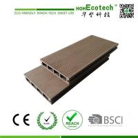 Low cost high quality wood plastic composite decking of for Low price decking
