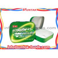 Wholesale Breath Freshening Tin Box Candy , Sugar Free Fat Free Candy Eco - Friendly from china suppliers