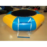 Wholesale PVC Inflatable Water Toys , Children / Adult Water Floating Plate , Summer Water Toy from china suppliers
