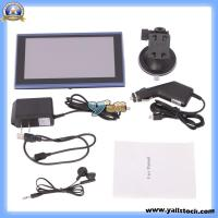 Wholesale SD4GB 800 X 480 7-Inch LCD Car GPS Navigator FM with Bluetoothwince6.0USA Map (709 Black and Blue Sideband AVI) -12003070 from china suppliers