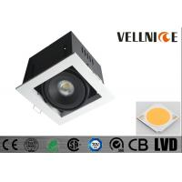 Quality 10W  Square ceiling led spotlights 3000K 30 Deg Tiltable with Junction Box for sale