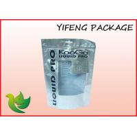 Wholesale Bottom Gusset Plastic Resealable Bags Stand Up Zip Top Pouch For Garment Packaging from china suppliers