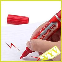 Wholesale 2013 hot sale Electrostatic Marker Pen Shock Trick Gag Toy Practical Joke Prank Gift Red from china suppliers