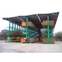 Wholesale 4650 Kg Per Arm Cantilever Steel Storage Racks Rows With Stacker Cranes from china suppliers
