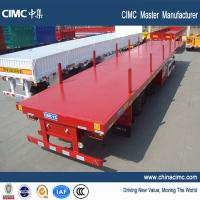Wholesale multi axle 40 tons log trailer flatbed truck trailer for sale - CIMC Vehicle from china suppliers
