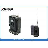 Wholesale Man portable 5 Watt HD Wireless Transmitter Microwave AV System AES128 Encryption from china suppliers