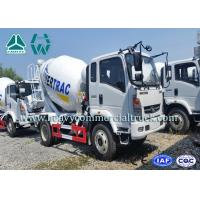 Wholesale 10 CBM High Efficient Small Electric Concrete Mixer Truck Anti Leakage Groove from china suppliers
