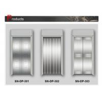 Wholesale Mirror Craft Stainless Steel Painted Elevator Door Panel SN - DP - 301 from china suppliers