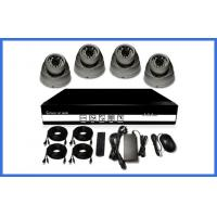 Quality H.264 HD POE CCTV Camera Kits , Metal Dome Camera Support Mobile for sale