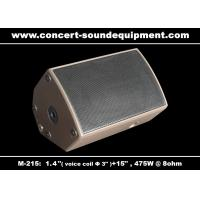 "Wholesale 475W Disco Sound Equipment 1.4"" + 15"" Stage Monitor , Full Range Speaker For Installation from china suppliers"