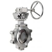 Wholesale Stainless Steel Butterfly Valve Zero Leakage WCB CI Material OEM Service from china suppliers