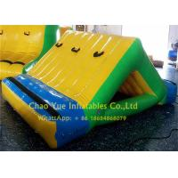 Quality Business Rental 0.9mm PVC Inflatable Water Sports 3 X 2m Water Slide With CE Pump for sale