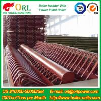 Wholesale Industry Electrical Water Boiler Power CFB Boiler Header 500MW Rate Factor from china suppliers