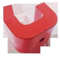 Wholesale Customized Permanent 2 3 5 8 Grade Cast  Alnico U Shape Magnets for Education from china suppliers