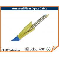 Wholesale Underground Armored Fiber Optic Cable Compatible Connector , Fiber Optical Cables from china suppliers