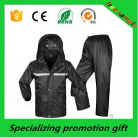 Wholesale Customized PVC raincoat set Outdoor Essential Products Size S-3XL from china suppliers