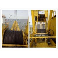 Wholesale Small Size Tower Crane Winch 6 Ton / 8 Ton With Special Drum Grooving from china suppliers