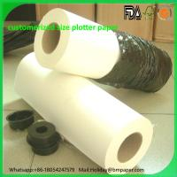 Wholesale Wholesale 40gsm 45gsm 50gsm 55gsm Printable PVC self adhesive paper for print plotters from china suppliers