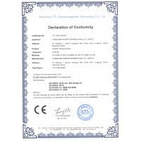 HongKong Suntek International Co., Ltd., Certifications
