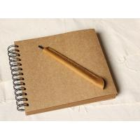 Wholesale Wedding Guestbook // Kraft Scrapbook Album // Spiral Bound // Kraft photo album/ wedding g from china suppliers