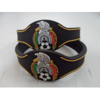 Wholesale Eco Friendly Black Wristband Custom Silicone Bracelets for Girls from china suppliers