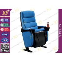 Wholesale Plastic Shell Floor Mounting Theatre Chairs Music Hall Seating With PP Cup Holder from china suppliers