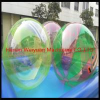 Wholesale CE certificate durable  2M  TPU0.8 Colorful Water Walking Ball  with German zip use in shopping mall from china suppliers
