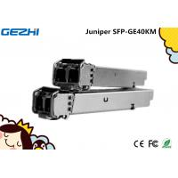 Wholesale Juniper SFP - GE40KM - 1000Base EX sfp transceiver module fiber optic lc connector 40 Km 1310 nm from china suppliers