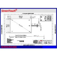Wholesale High accuracy and sensitivity 5 wire resistive touch screen Windows7 from china suppliers