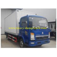 Wholesale 4x2 Driving type 10 Tons Refrigerator Box Truck 140 hp for fruit transport from china suppliers