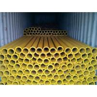 Wholesale Twin Wall Concrete Pump Tube , Galvanized Technology DN125 Straight Pump Pipe from china suppliers