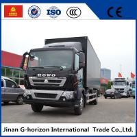 Wholesale 336HP Van Cargo Truck SINOTRUK HOWO 4X2 Euro 2 Lorry Vehicle Heavy Cargo Truck from china suppliers