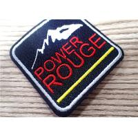 Wholesale Environmental 3D Custom Embroidered Patches Sew Iron On For Clothing , Bag from china suppliers