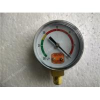 Wholesale Aluminium Dial 63mm Pressure Vacuum Gauge Plastic Case Vacuum And Pressure Gauge from china suppliers