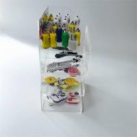 Wholesale Acrylic Phone Accessory Counter LED Display Stand for Cables from china suppliers