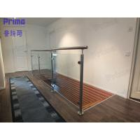 Quality glass railing / stainless steel handrail fittings / stainless steel spigot for sale