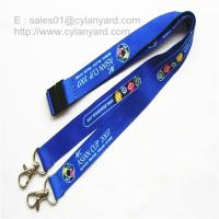 Quality Two Ends Open Lanyards, Open Double-Ended full color lanyard with rivet seal for sale