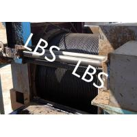 Wholesale Oil / Petroleum Machinery Anchor Handling Towing Winch With Lebus Drum from china suppliers