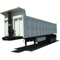 Wholesale Diesel Rear End Dump Truck Trailer 3 Axles With Leaf Spring Suspension from china suppliers