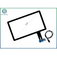 Wholesale USB Interface 15.6 Inch Multi-Touch Screen With Projected Capacitive Technology For Panel PCs, Kiosks, POS Terminals from china suppliers
