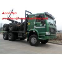 Wholesale 6 X 4 Log Carrier Heavy Equipment Trucks 40 TON  for transport SINOTRUK HOWO CHASSIS EuroIII from china suppliers