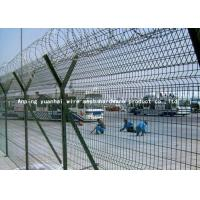 Wholesale Y Post Welded Airport Security Fencing Square Hole Shape Low Carbon Iron Wire from china suppliers