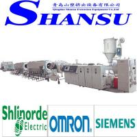 Wholesale PE PIPE Plastic Extrusion Machinery / Extrusion Line With Optimum Barrier Screw from china suppliers