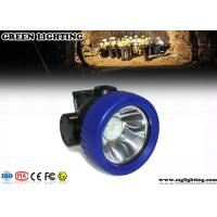 Wholesale 2600mA Cordless Mining Hard Hat LED Lights , 3.7V Waterproof Cree LED Cap Lamp from china suppliers