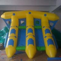 Wholesale Factory Manufactured Inflatable Flyfish , PVC Tarpaulin Inflatable Water Flying Fish Boat from china suppliers