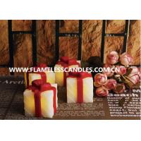 Wholesale Gift Box Shaped LED Flameless Votive Candles / Beautiful LED Votives Light for Gifts from china suppliers